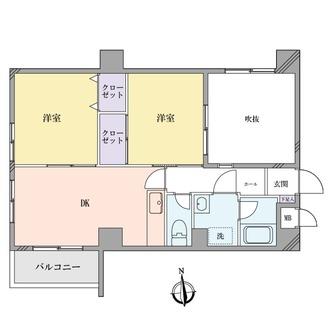 メインステージ板橋本町駅前の間取図