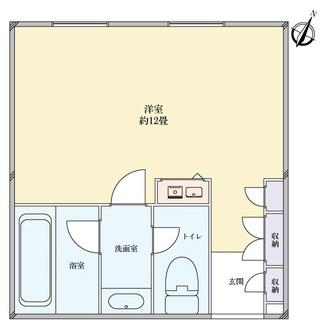 シャトレーイン東京・笹塚の間取図