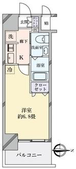 エステムコート梅田・天神橋IIIアヴァンテの間取図
