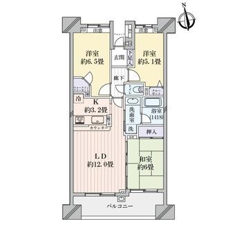 ライオンズマンション蒲田東パークサイドの間取図