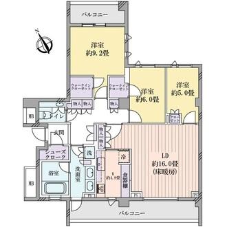ルフォン吉祥寺の間取図