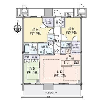 THE TOYOSU TOWER(ザ・豊洲タワー)の間取図