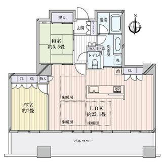 ザ・千里タワーの間取図