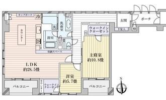 THERESIDENCE京都東洞院四条の間取図