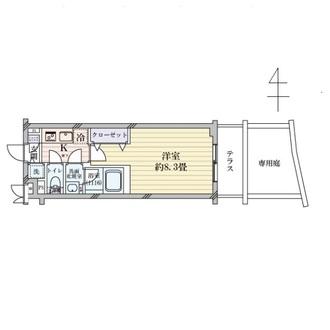 べラジオ京都東山IIの間取図