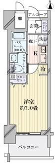 エステムコート新大阪Xザ・ゲートの間取図