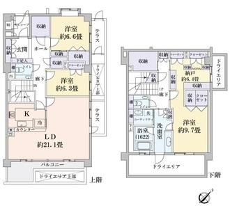 パーク・コート八事春山の間取図