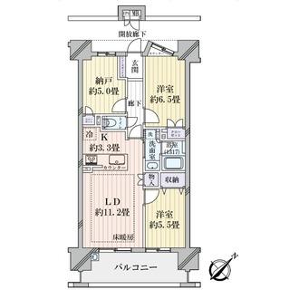 プライムメイツ東別院の間取図
