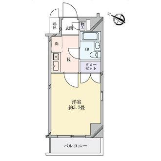 セザール名古屋の間取図