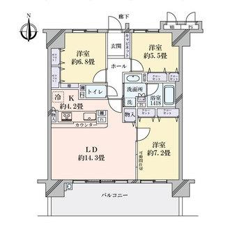 コラボシティ大須(大須301ビル)の間取図