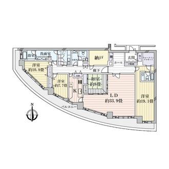 ザ・シーン城北アストロタワーの間取図