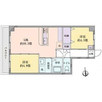 セブンスターマンション第3五反田の間取図