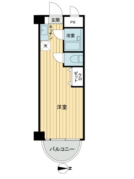 東京ベイサイドの間取図
