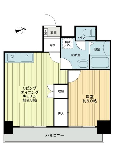 ニューライフ千駄木弐番館の間取図