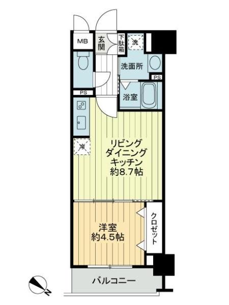 ル・リオン八広GRAND-COURTの間取図