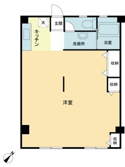 横浜宮元町第一分譲共同ビルの間取図