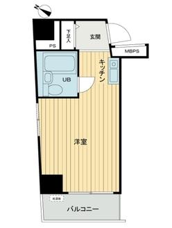 ライオンズマンション川崎第11の間取図
