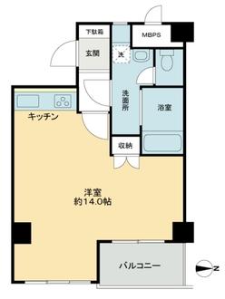 三田永谷マンションの間取図