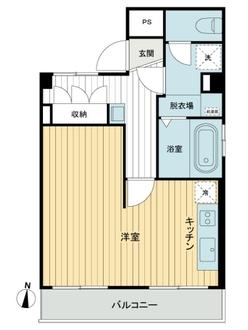 武蔵境永谷タウンプラザの間取図