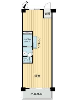 松見坂武蔵野マンシヨンの間取図