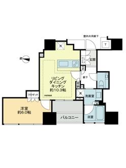 THE千代田麹町TOWERの間取図