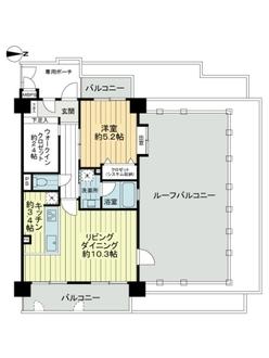 ライオンズマンション武庫之荘の間取図