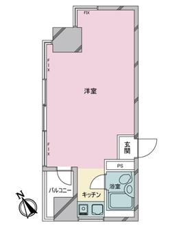 東武ハイライン銀座2丁目の間取図
