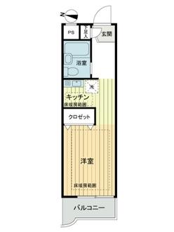 日神パレス田無第2の間取図