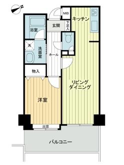 ストークマンション磯子壹番館の間取図