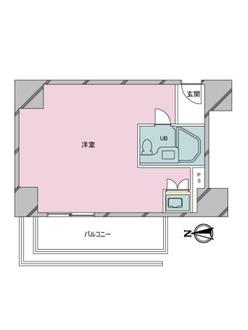 東豊エステートの間取図