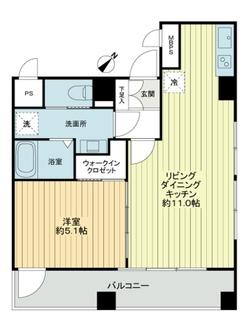 銀座永谷タウンプラザの間取図