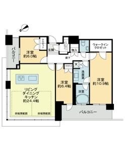 ザ・広島タワーの間取図