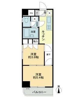 ライオンズマンション錦糸町第7の間取図