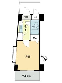 クレッセント新川崎の間取図