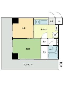 ドルミ錦糸町長谷川ビルの間取図