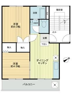 菱興中山マンションC棟の間取図