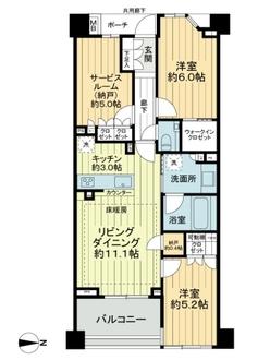 ヴィークステージ練馬豊玉桜HOUSEの間取図