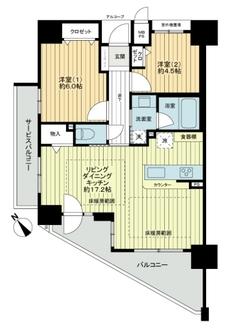 ワコーレ須磨寺ステーションヴィラの間取図