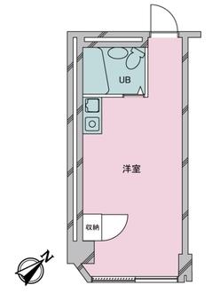 ストークマンション新川の間取図