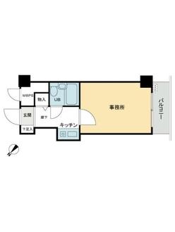 ライオンズマンション吉野町第壱0の間取図