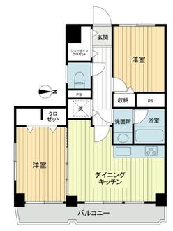 湯島永谷マンションの間取図