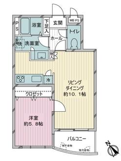 ロイヤルステージ新大塚の間取図