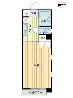 プレール大岡山の間取図