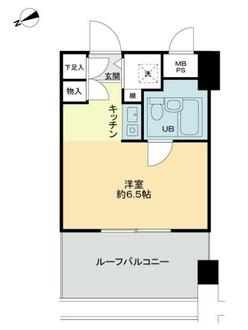 ライオンズマンション川崎第12の間取図