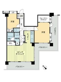クリオ藤沢七番館の間取図