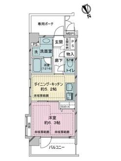 ライオンズマンション浅草雷門・長島共同ビルの間取図