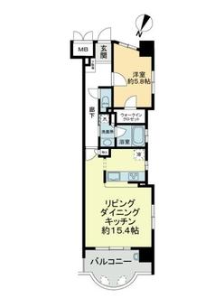 ロイヤルメゾン東国泰寺の間取図