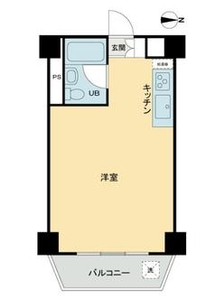 タカシマ桜ヶ丘マンションの間取図