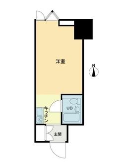 麹町クリスタルシティ西館の間取図
