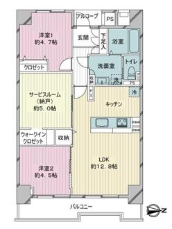 綾瀬プルミエの間取図